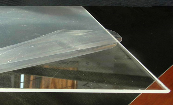 Glass cover self-adhesive film